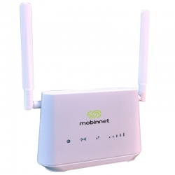 مودم LTE مبین نت مدل MN4200 به همراه سیم کارت 4.5G و 300 گیگابایت اینترنت 12 ماهه