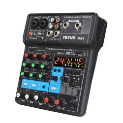میکسر صدا ا تی یو ان مدل NA4