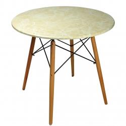 میز ناهارخوری اوان مدل دلتا طرح سنگ