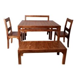 میز ناهارخوری مدل m2025 مجموعه 5 عددی