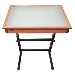 میز نور مهرگان مدل LT 03 سایز 120×80 سانتی متر