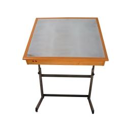 میز نور مهرگان مدل TGA-5070 سایز 50×70 سانتی متر