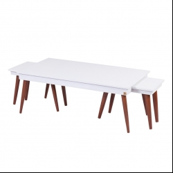 میز پذیرایی مدل مخروط کد 017 مجموعه 3 عددی
