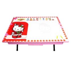 میز تحریر کودک میزیمو طرح گربه کد 3506