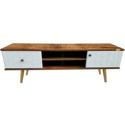 میز تلویزیون کاریزما چوب مدل A.W.214