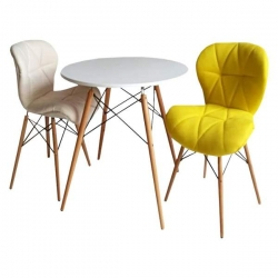 میز و صندلی ناهارخوری 2 نفره مدل D432
