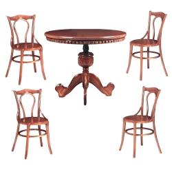 میز و صندلی ناهار خوری 4 نفره کد 008