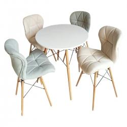 میز و صندلی ناهارخوری 4 نفره مدلa238