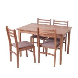 میز و صندلی ناهار خوری 4 نفره مدل توسکا