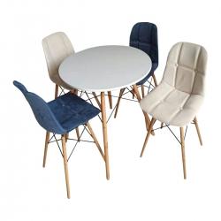 میز و صندلی ناهارخوری 4 نفرهمدل A69