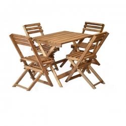 میز و صندلی ناهارخوری مدل pk2