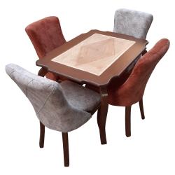 میز و صندلی ناهارخوری تامین و پخش موسوی مدل viktor