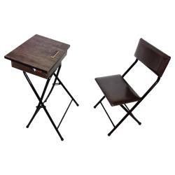میز و صندلی نماز میزیمو مدل باکسدار تاشو کد 4001