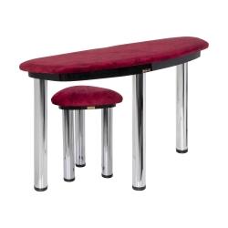 میز و صندلی سنتور قیصران مدل دیاموند کد 19