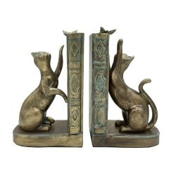 نگهدارنده کتاب مدل گربه و پروانه کد 386 مجموعه 2 عددی