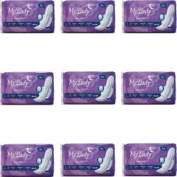 نوار بهداشتی مای لیدی مدل Classic purple مجموعه 9 عددی