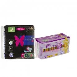 نوار بهداشتی تافته مدل Night بسته 7 عددی به همراه پد بهداشتی روزانه مدل A01 بسته 40 عددی