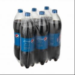 نوشابه گاز دار با طعم کولا پپسی – ۱.۵ لیتر بسته ۶ عددی