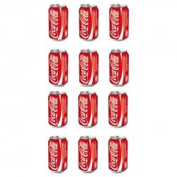 نوشابه کولا کوکاکولا – 330 میلی لیتر بسته 12 عددی
