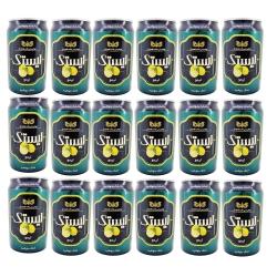 نوشیدنی مالت بدون الکل لیمو ایستک حجم 330 میلی لیتر بسته 24 عددی