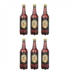 نوشیدنی مالت هی جو با طعم هلو – 1 لیتر بسته ۶ عددی