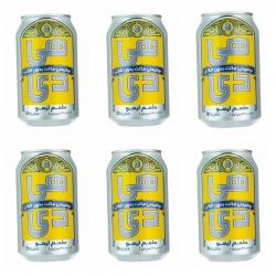 نوشیدنی مالت لیمو هی دی – 0.33 لیتر بسته 6 عددی