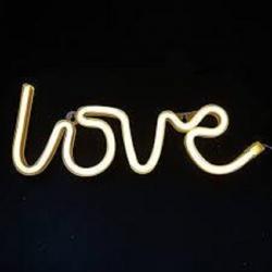 نئون فلکسی طرح عشق