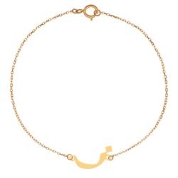 پابند طلا 18 عیار زنانه کرابو طرح حرف ز مدل Kr2060