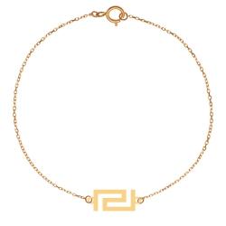 پابند طلا 18 عیار زنانه کرابو طرح کلاسیک مدل Kr2062