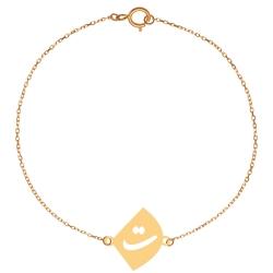 پابند طلا 18 عیار زنانه کرابو طرحت مدل Kr2126