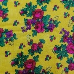 پارچه لباس مدل گل نگار کد112