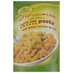 پاستا با طعم پنیر و ادویه کاری سبزان وزن 180 گرم
