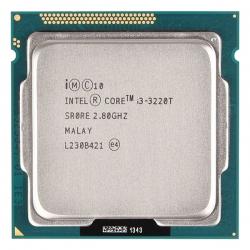 پردازنده مرکزی اینتل سری Ivy Bridge مدل Core i3 3220T Tray