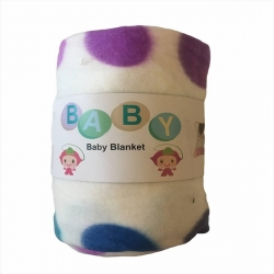 پتو نوزاد مدل توپ رنگی سایز 100×70 سانتیمتر