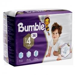 پوشک کودک بامبل مدل Junior سایز 4 بسته 36 عددی
