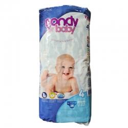 پوشک کودک فوندی مدل Comfort سایز 4 بسته 26 عددی