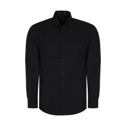 پیراهن آستین بلند مردانه پاتن جامه مدل 102721000096846 رنگ مشکی