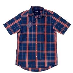 پیراهن آستین کوتاه مردانه اگزیت مدل چهارخونه
