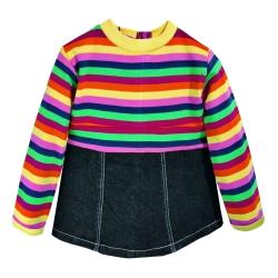 پیراهن دخترانه بانامان کد b713