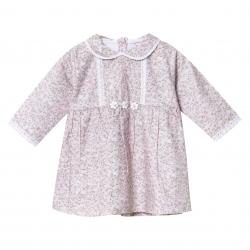 پیراهن نوزادی دخترانه فیورلا مدل نازار کد 2948