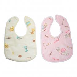 پیش بند نوزادی مدل Happy Farm & Sweet Baby مجموعه 2 عددی