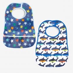 پیش بند نوزادی نکست مدل fish&star مجموعه دو عددی