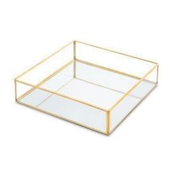 ظرف شیشه ای مدل سینی کد aa