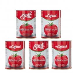 رب گوجه فرنگی اسمیف – 400 گرم بسته 5 عددی