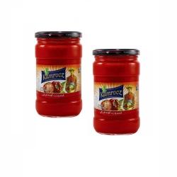 رب گوجه فرنگی شیشه ای  کامروز  750 گرم مجموعه بسته ۲ عددی
