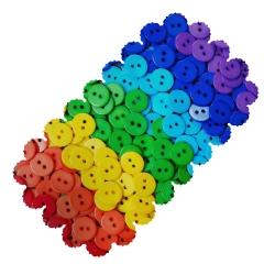 رومیزی طرح دکمه رنگی کد 5304R