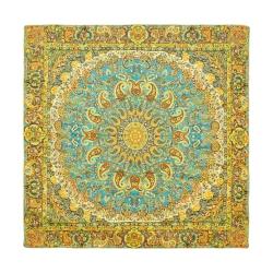 رومیزی ترمه طرح شمس العماره کد 145