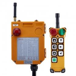 ریموت کنترل صنعتی تله کنترل مدل شش کلید دو سرعت کد کد F24-6D