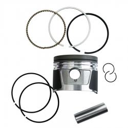 رینگ و پیستون موتورسیکلت پازل کد PSR122075G مناسب برای هندا 200cc مجموعه 9 عددی
