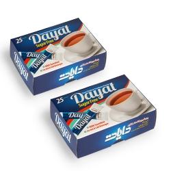ساشه پودر شیرین کننده بدون قند دایات – 2 بسته 25 عددی